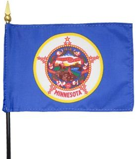 Miniature Minnesota Flag