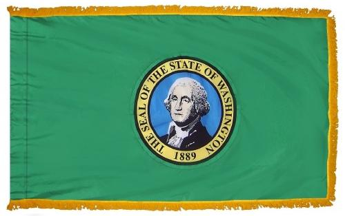Washington Indoor Flag