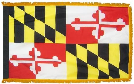 Maryland Indoor Flag
