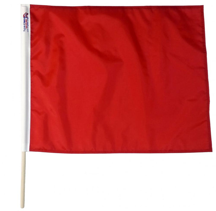 Solid Red Racing Flag