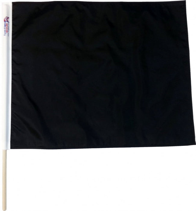 Solid Black Racing Flag