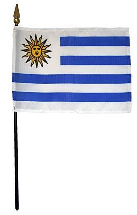 Mini Uruguay Flag for sale