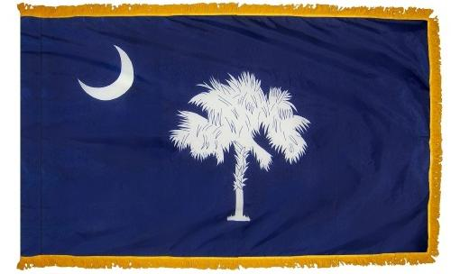 South Carolina Indoor Flag