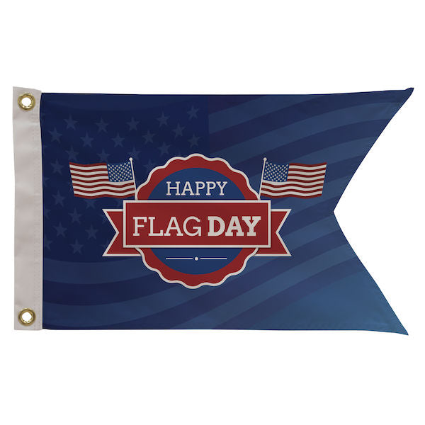 Custom Printed Guidon Flag | Single Reverse