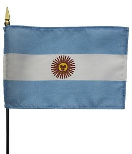 Mini Argentina (No Seal) Flag