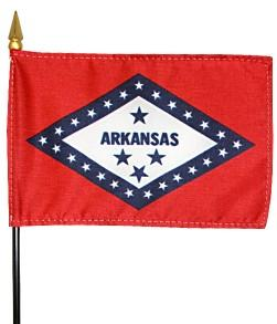 Miniature Arkansas Flag