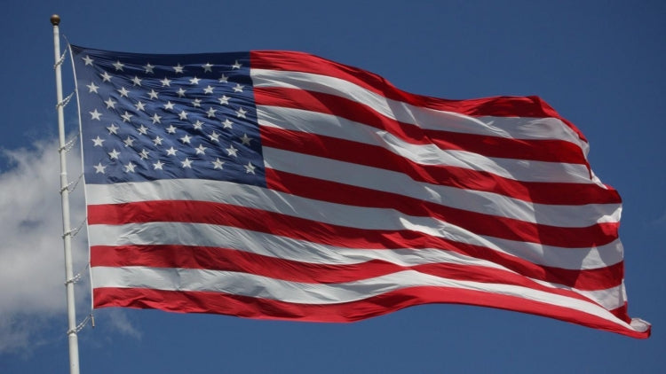 ColorLast™ Outdoor Nylon U.S. Flag Commercial Grade with 3 Month Warranty