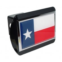 Texas Shape Chrome Hitch Cover
