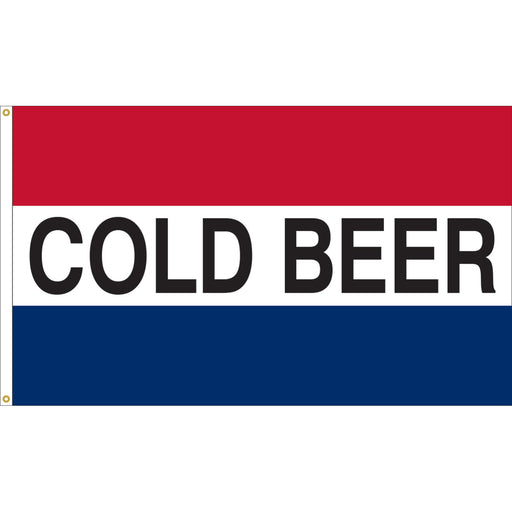 Cold Beer Flag For Sale - Cold Beer Flags For Sale
