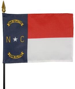 Miniature North Carolina Flag