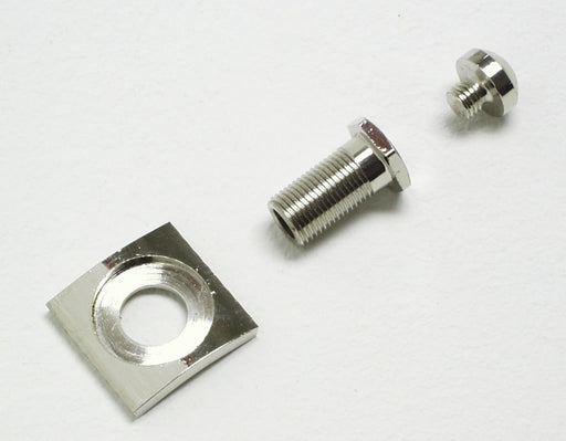 Threaded Cover Tube, Chrome Door Plate Cover and Hex Plug Kit