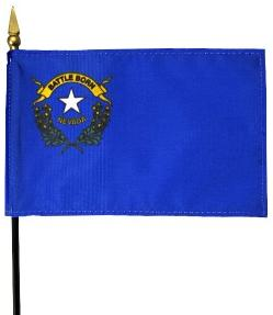 Miniature Nevada Flag