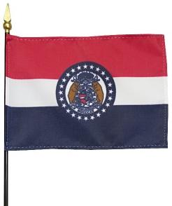 Miniature Missouri Flag