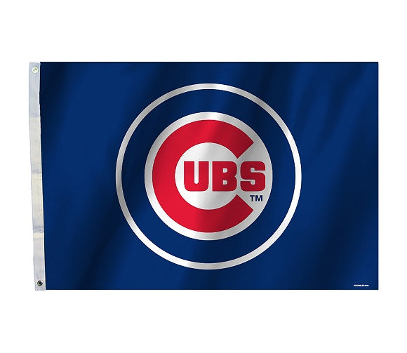chicago cubs flag for sale - officially licensed - flagman of america