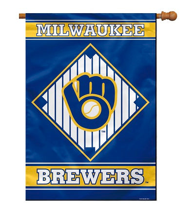 milwaukee brewers flag for sale - officially licensed - flagman of america