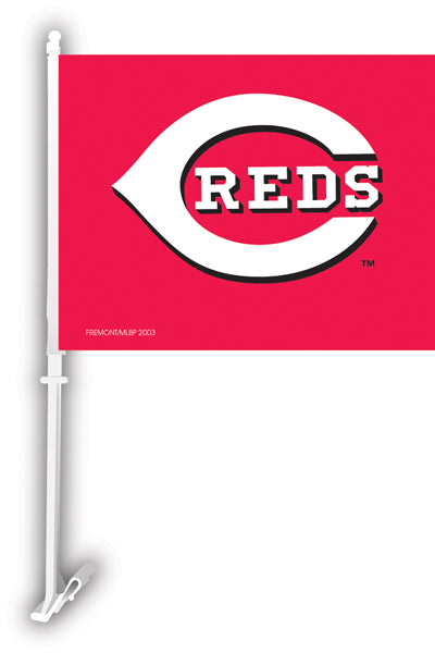 cincinnati reds flag for sale - officially licensed - flagman of america