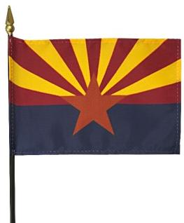 Miniature Arizona Flag