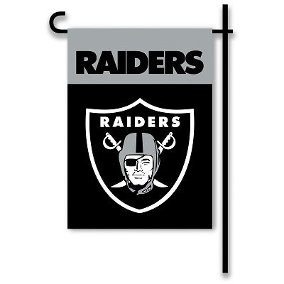 Oakland Raiders Outdoor Flags