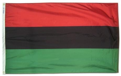 Afro American Outdoor Flag