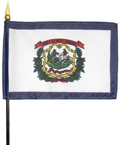 Miniature West Virginia Flag