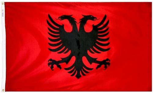 Albania (UN) Outdoor Flag