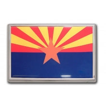 Arizona Flag Auto Emblem