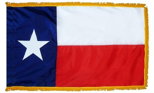 Texas Indoor Flag