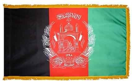 Afghanistan (UN) Indoor Flag