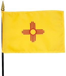 Miniature New Mexico Flag