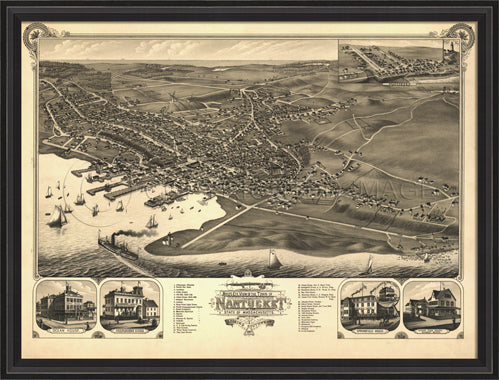 Town of Nantucket 1881