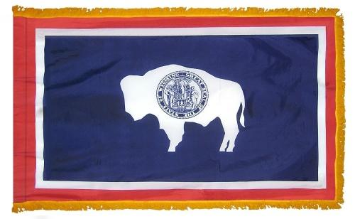 Wyoming Indoor Flag