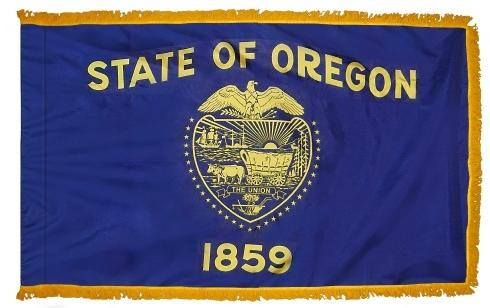 Oregon Indoor Flag