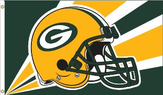 green bay packers outdoor flag for sale - officially licensed - flagman of america