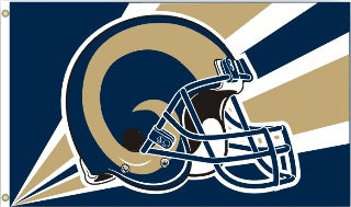 st louis rams outdoor flag for sale - officially licensed - flagman of america