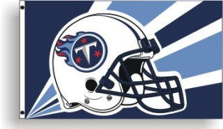 tennessee titans outdoor flag for sale - officially licensed - flagman of america