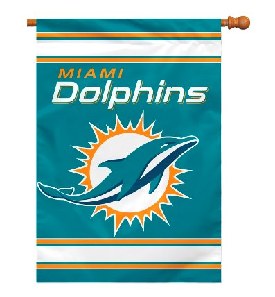 Miami Dolphins Outdoor Flags