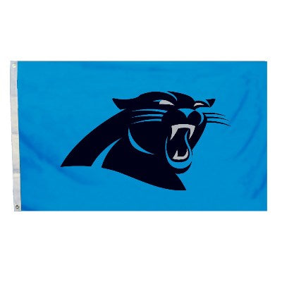 carolina panthers outdoor flag for sale - officially licensed - flagman of america