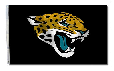 jacksonville jaguars outdoor flag for sale - officially licensed - flagman of america