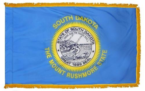 South Dakota Indoor Flag