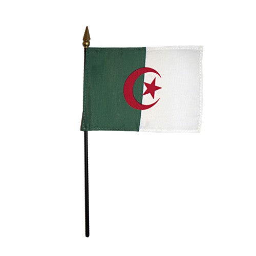 "4""x6"" Mini Algeria Flag"