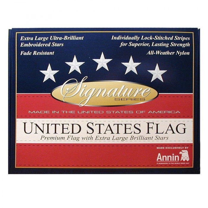 Annin Brand Signature Series American Flag Flagman of America