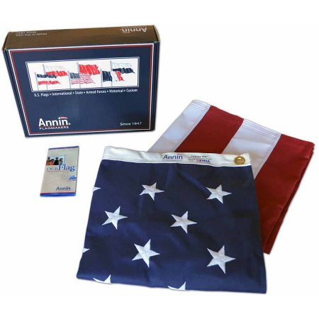Annin Tough Tex American Flag Heavy Duty Commercial Grade US Flag Flagman of America