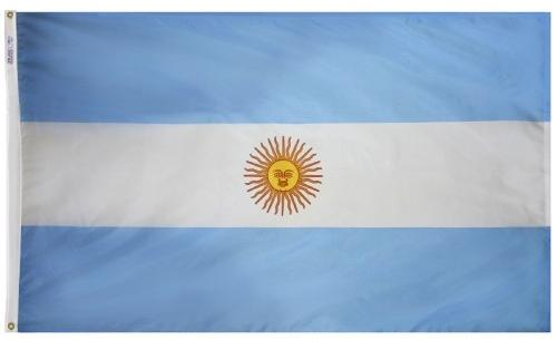 Argentina with Seal (UN) Outdoor Flag