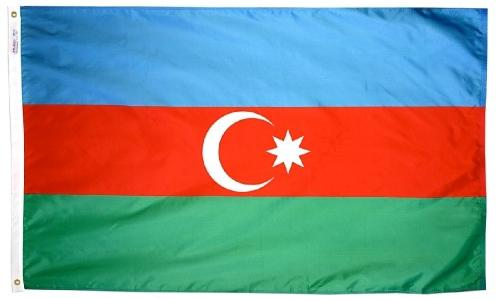 Azerbaijan Outdoor Flag
