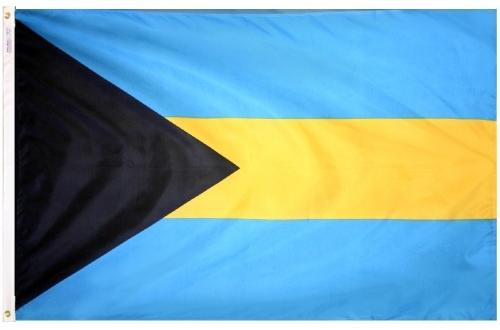 Bahamas Outdoor Flag
