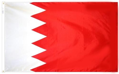 Bahrain Outdoor Flag