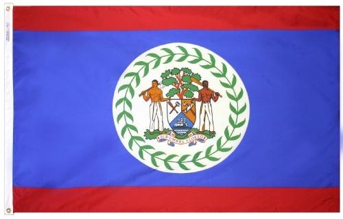 Belize Outdoor Flag for Sale