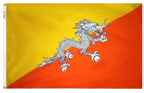 Bhutan (UN) Outdoor Flag
