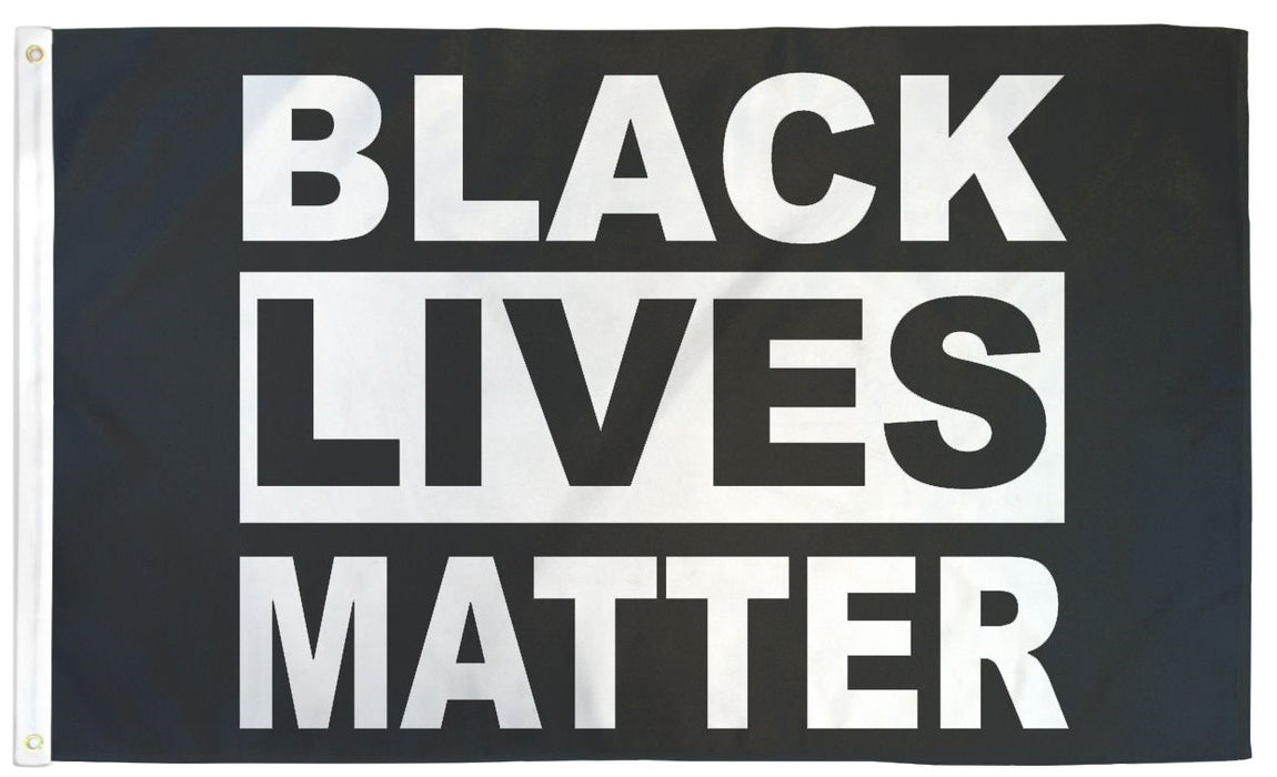 Black Lives Matter Flag 3'x5' | Black Lives Matter 3x5 Feet Flag with