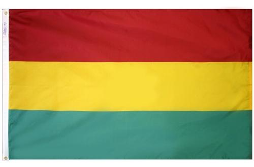 Bolivia (No Seal) Outdoor Flag